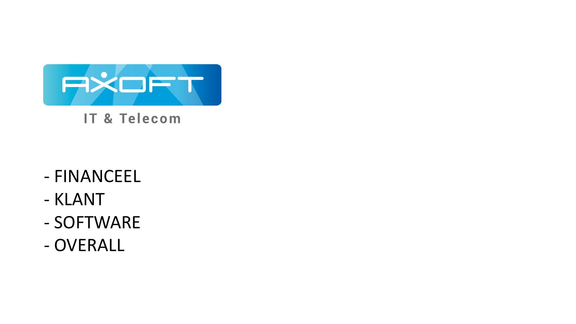 Ppt templates powerpoint laten maken axoft it telecom heeft ons benaderd voor het representatief maken van hun bedrijfspresentatie de oude versie was voorzien van veel bullitpoints en droge toneelgroepblik Gallery